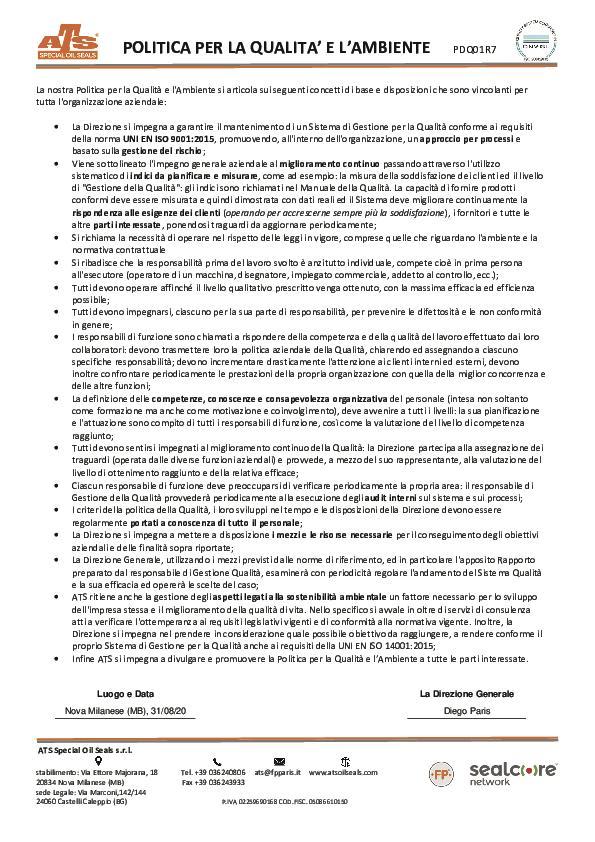 Immagine ATS_Politica_Qualità_Ambiente_2020_PDQ01R7