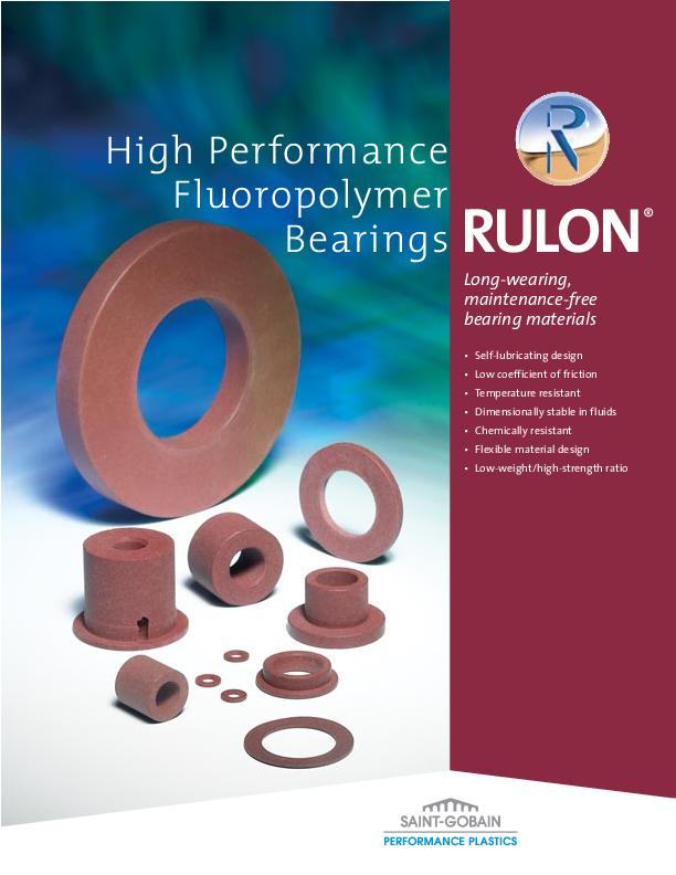Immagine FLUORTEN Brochure Rulon® Bearings