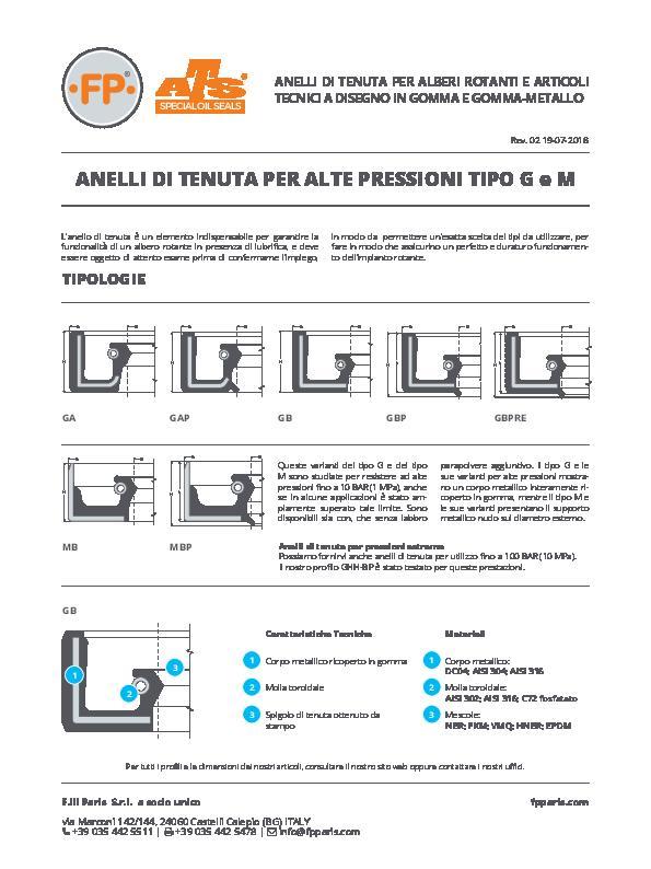 Immagine G e M Alta Pressione Info Tecnica_IT