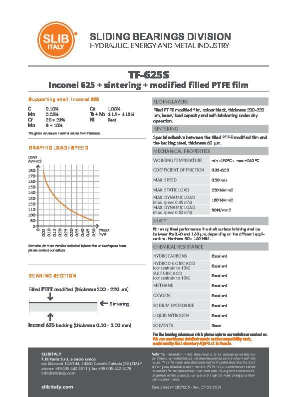Immagine SLIBITALY_DataSheet_TF-625S_EN