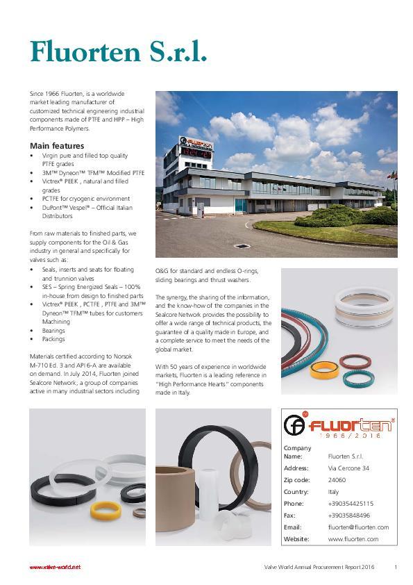 Immagine FLUORTEN Company Flyer EN